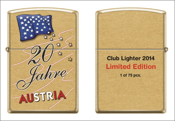 Zippo Club Austria  -  Club Lighter Set 2014 - Lighter 1