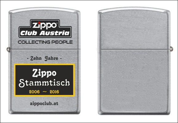 Zippo Club Austria - Everyday Lighter 2016